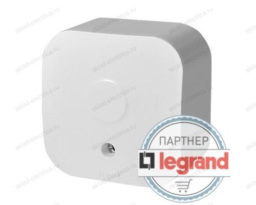 Вывод кабеля Legrand Quteo белый 782216