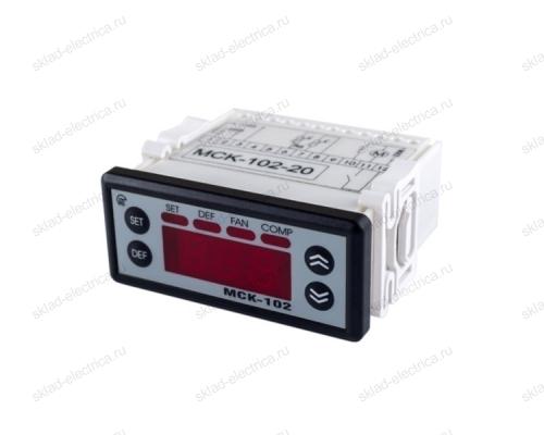 Контроллер управления температурными приборами МСК-102-14 с 1 NTC Новатек