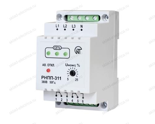 Реле напряжения, перекоса и последовательности фаз РНПП-311-0 Новатек-Электро