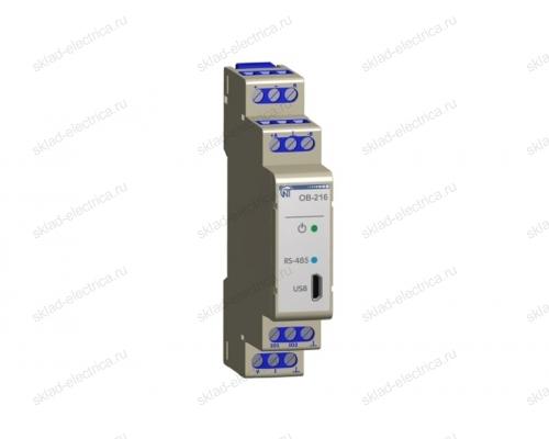 MODBUS модуль ввода-вывода цифровой OB-216 Новатек-Электро
