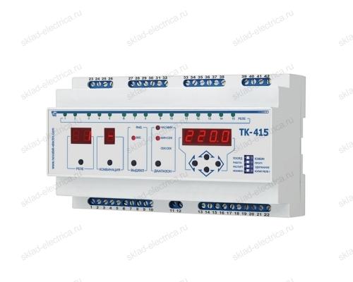 Последовательно-комбинационный таймер ТК-415 Новатек-Электро