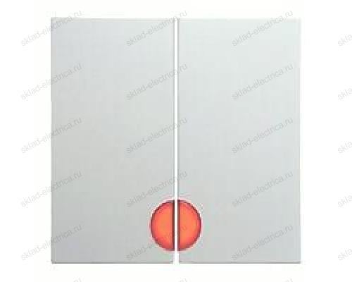 Выключатель двухклавишный с подсветкой, 10 А / 250 В~ 1675 + 16271909 + 3035