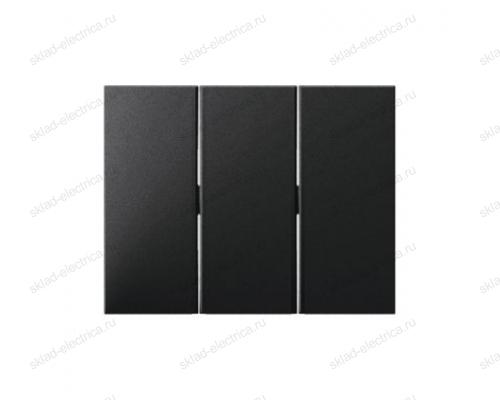 Выключатель 3-х клавишный 16А 633023 + 14657006