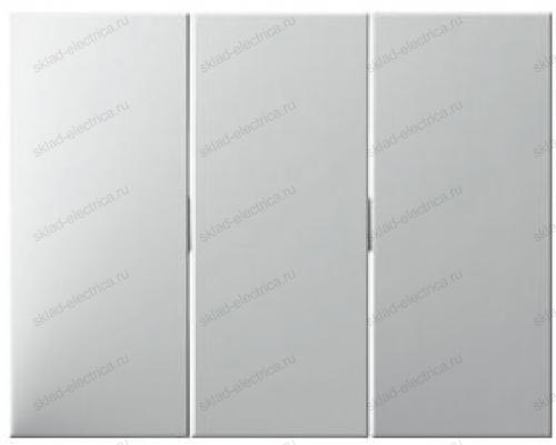 Выключатель 3-х клавишный 16А 633023 + 14657009