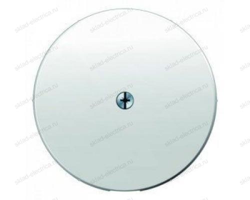 Вывод кабеля с суппортом Berker, белый 4470 + 10192089