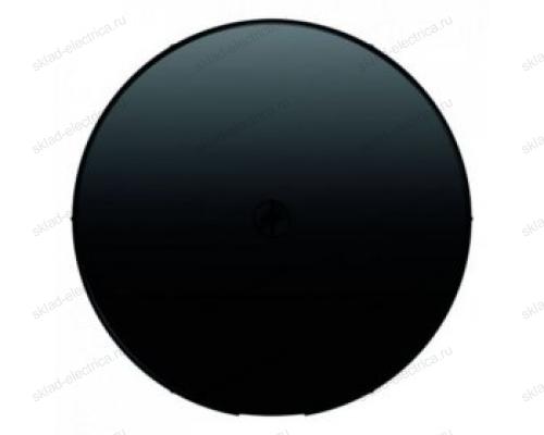 Вывод кабеля с суппортом Berker, черный 4470 + 10192045