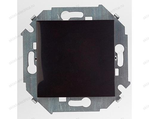 Выключатель 1 клавишный Simon 15 1591101-032 цвет черный