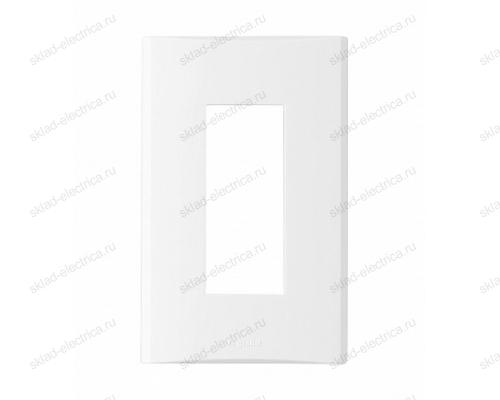 Anam Legrand Zunis Рамка одинарная, 3 модуля, белая