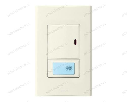 Anam Legrand Zunis Выключатель 1-клавишный с ДУ 30-300 Вт (2-х пров. схема подкл) для л/н, бежевый
