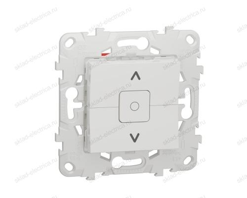 Выключатель управления для жалюзи и рольставней 6А/250 В~ Schneider Unica New, белый NU520818