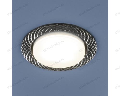 Алюминиевый точечный светильник 1071 GX53 BK черный
