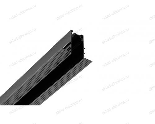 Встраиваемый магнитный шинопровод Quest Light черный Direct in 34/2000 Black