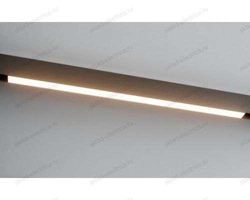 Светодиодный светильник для магнитного шинопровода Quest Light Way in 34/10W-3000K Black