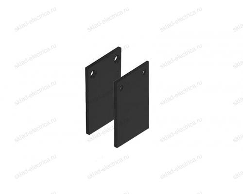 Боковая заглушка для накладного шинопровода Quest Light Cover out 34 Black