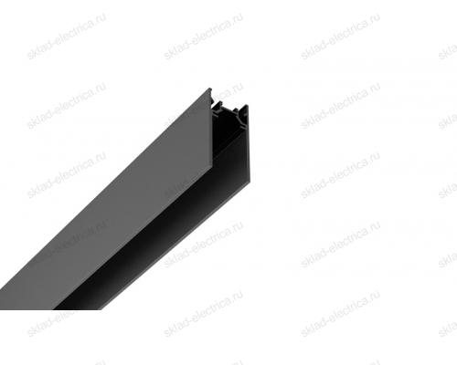 Накладной магнитный шинопровод Quest Light Direct out 34/1000 Black