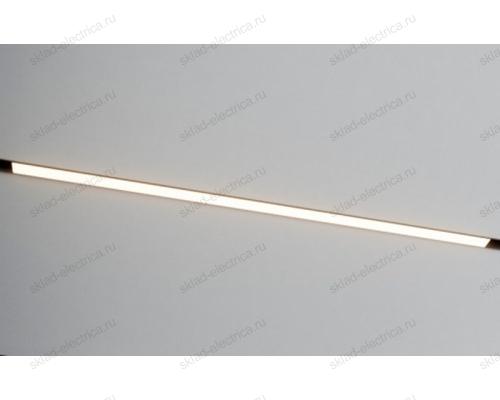 Светодиодный светильник для магнитного шинопровода Quest Light Way in 34/15W-4000K Black