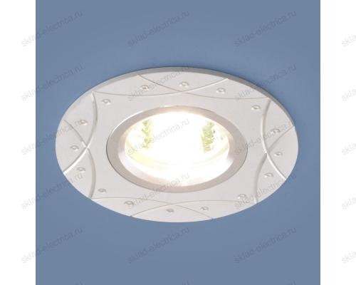 Алюминиевый точечный светильник 5157 MR16 WH белый