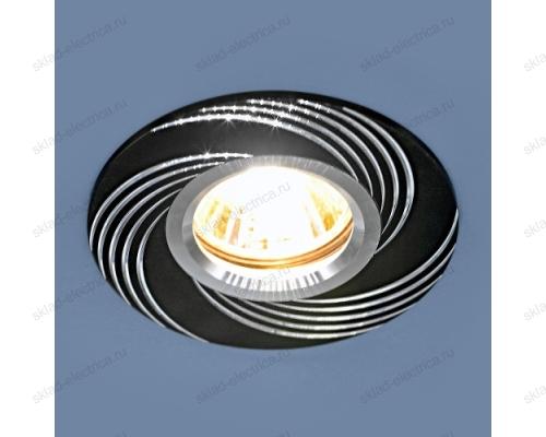Алюминиевый точечный светильник 5156 MR16 BK черный