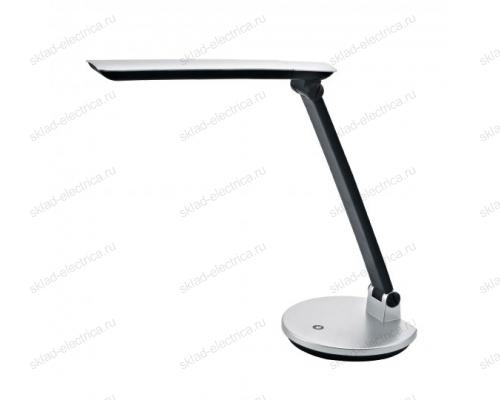 Светильник настольный LED-550Lm-4500K-С диммером-Цвет-серебристый
