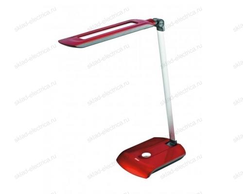 Светильник настольный LED-550Lm-4500K-Цвет-красный