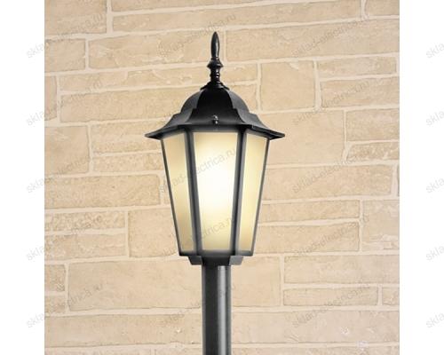Светильник на столбе GL 1014F черный
