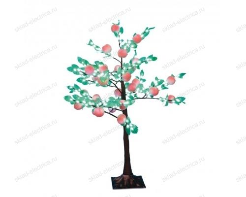 Дерево светодиодное Персик. 95см. 240 светодиодов. Белый свет. Провод черный.