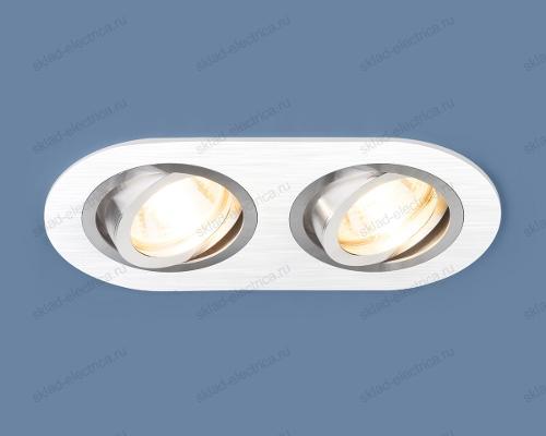 Алюминиевый точечный светильник 1061/2 MR16 WH белый