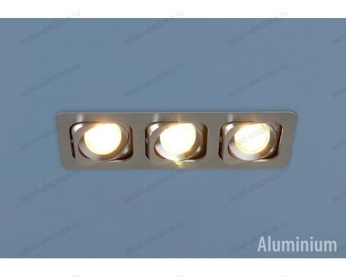 Алюминиевый точечный светильник 1021/3 MR16 CH хром