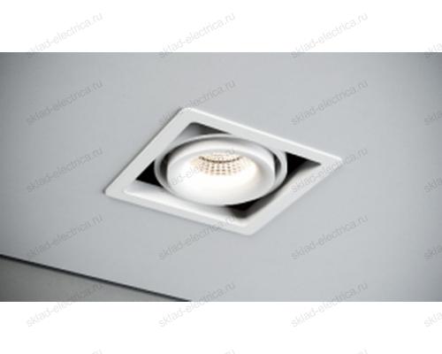 Светильник встраиваемый белый Quest Light CASTLE 1 LD white