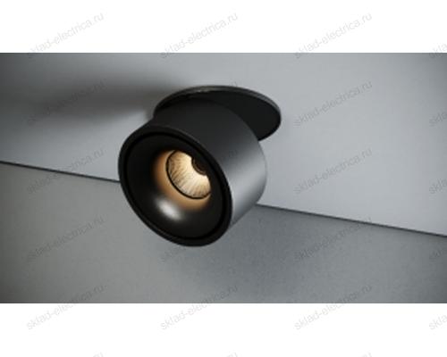 Светильник встраиваемый черный Quest Light LINK R black