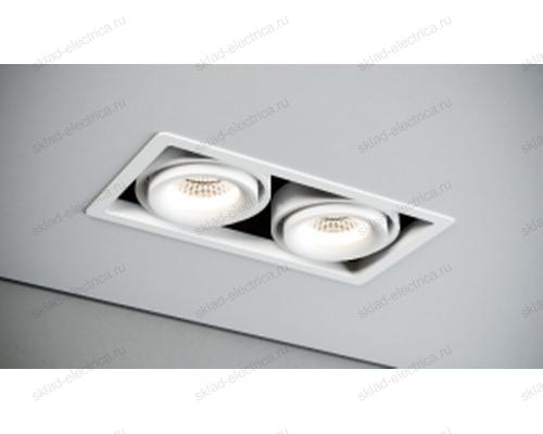 Светильник встраиваемый белый Quest Light CASTLE 2 LD white