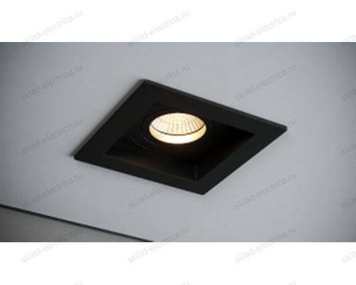 Светильник встраиваемый черный Quest Light DEEP 81 black