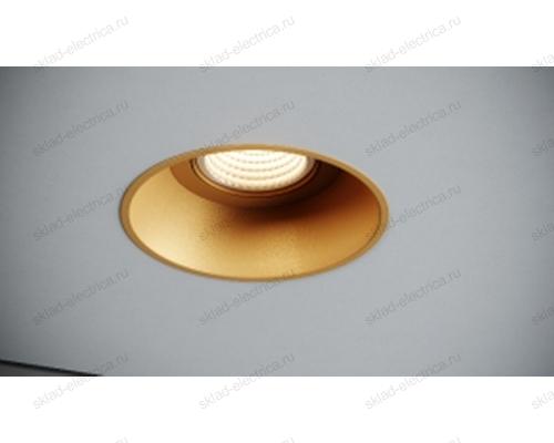 Светильник встраиваемый золотой Quest Light CLASSIC LD gold