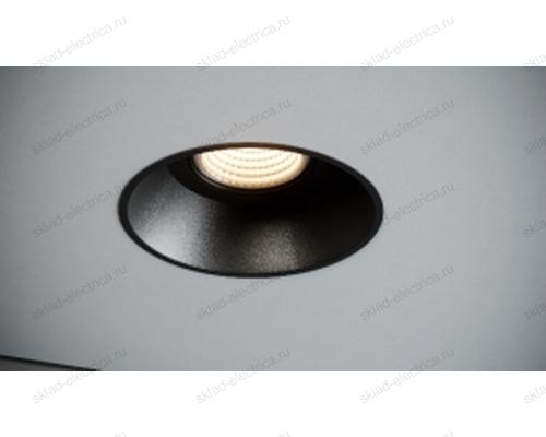 Светильник встраиваемый черный Quest Light CLASSIC LD black