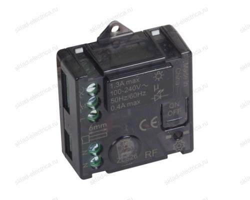 Микромодуль управления освещением 300 Вт 240В цвет Чёрный Legrand NETATMO 064888