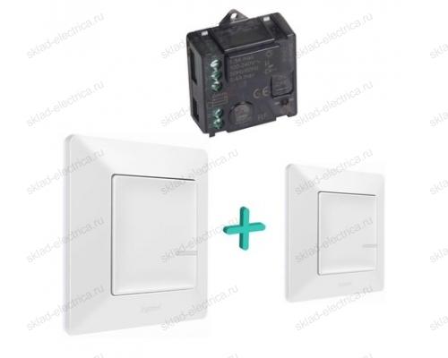 Дополнительный пакет управления освещением c 2 мест цвет Белый Valena Life Legrand NETATMO 752150