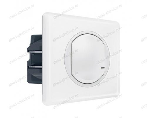 Выключатель с опцией светорегулирования 5-300 Вт цвет Белый Celiane Legrand NETATMO 067721