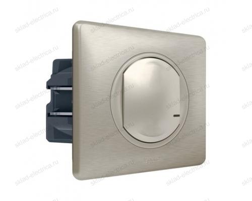 Выключатель с опцией светорегулирования 5-300 Вт цвет Титан Celiane Legrand NETATMO 067771