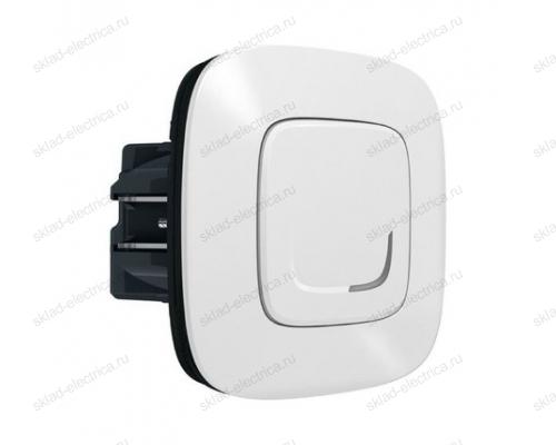 Выключатель с опцией светорегулирования 5-300 Вт цвет Белый Valena Allure Legrand NETATMO 752584