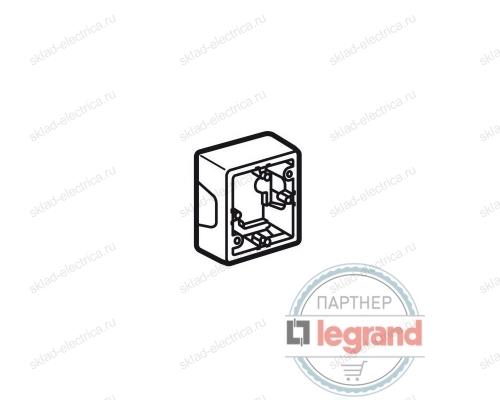 Коробка Valena для накладного монтажа 1 пост Legrand Valena (Белый) 776181