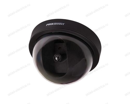 Муляж камеры внутренней, купольная (черная) PROCONNECT 45-0220