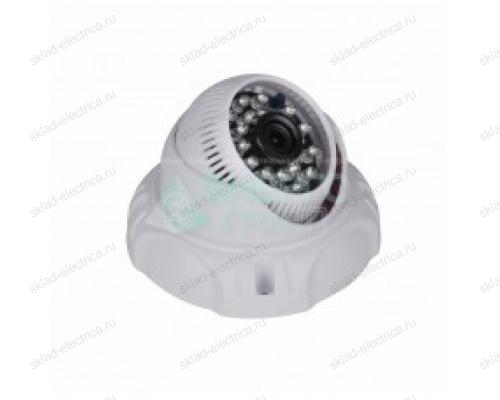 Купольная камера AHD 2.1Мп Full HD (1080P), объектив 2.8 мм. , ИК до 20 м. 45-0263