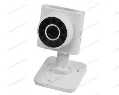 Беспроводная камера WiFi Smart 1.0Мп (720P), объектив 3.6 мм. , ИК до 10 м. 45-0273