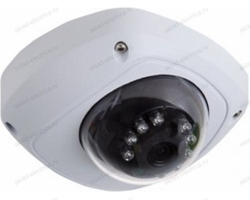 Kупольная уличная камера IP 1.0Мп (720P), объектив 2.8 мм. , ИК до 10 м. 45-0156