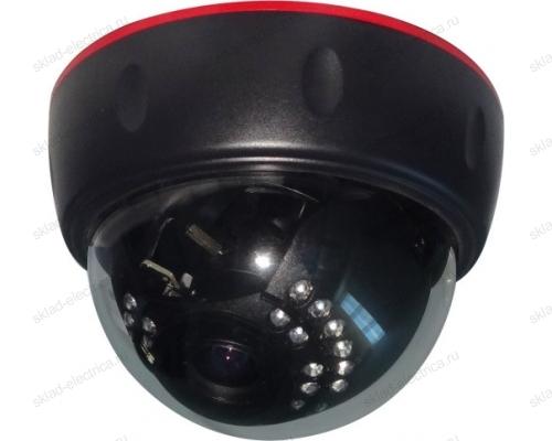 Купольная камера AHD 1.0Мп (720P), объектив 2.8-12 мм. , ИК до 30 м. 45-0135