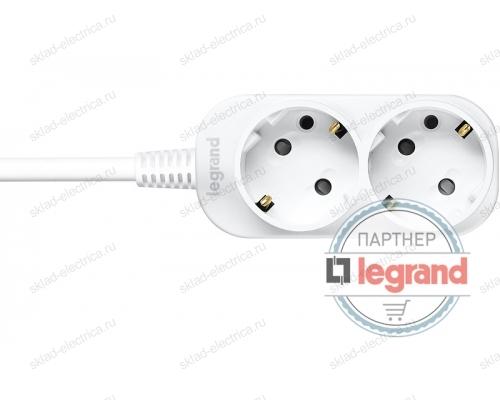 Удлинитель 2 поста Legrand Anam e-Fren, 4,5м, 10A L855960A4