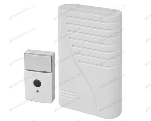 Звонок Zamel МОЛИК беспроводной в компл. с кнопкой 50м (питание от батареек) ST 66