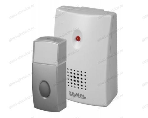 Звонок Zamel ВИБРО беспроводной радиус действия 100м (питание от батареек) ST 229