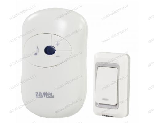 Звонок Zamel DISCO беспроводной радиус действия 80м (питание от розетки 220В) ST 930